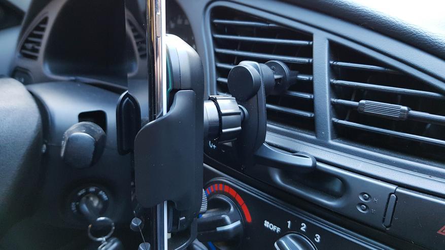 Baseus WXHW03 обзор автомобильное беспроводное зарядное устройство