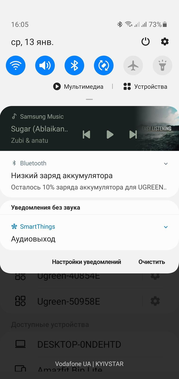 Ugreen HiTune T1 обзор TWS-наушники