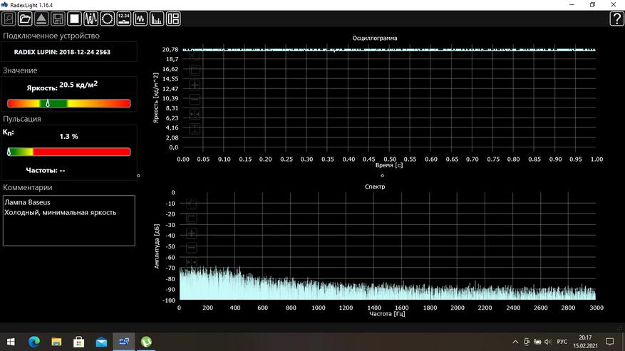 Светильник Baseus DGXC-02 обзор