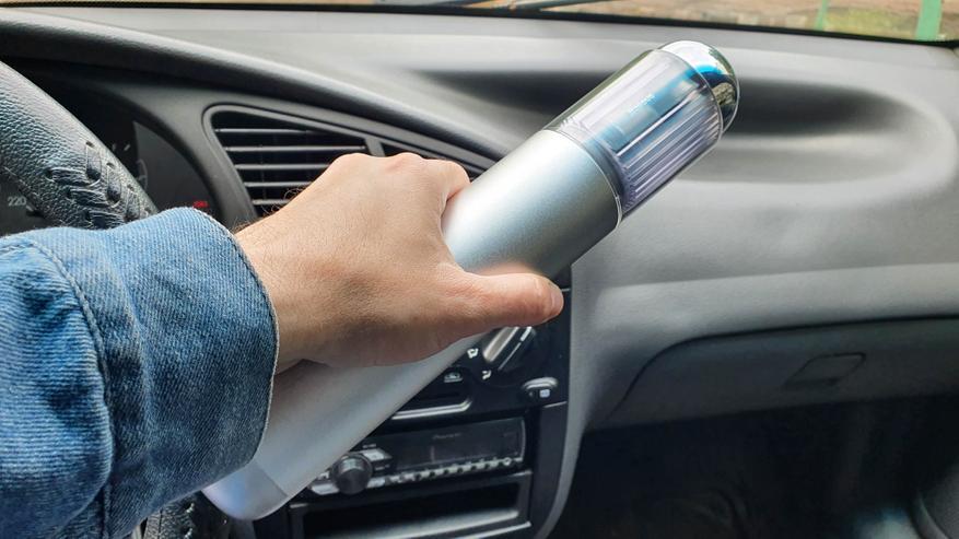 AliExpress: Baseus A3: компактный, но мощный автомобильный пылесос