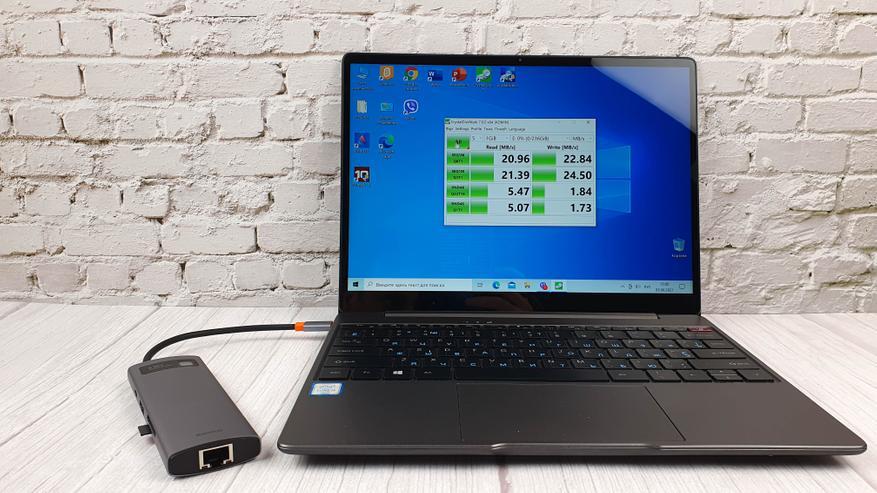 AliExpress: Концентратор Baseus 8-в-1 с поддержкой USB 3.0, HDMI, Dex, Ethernet и PD 100 Вт