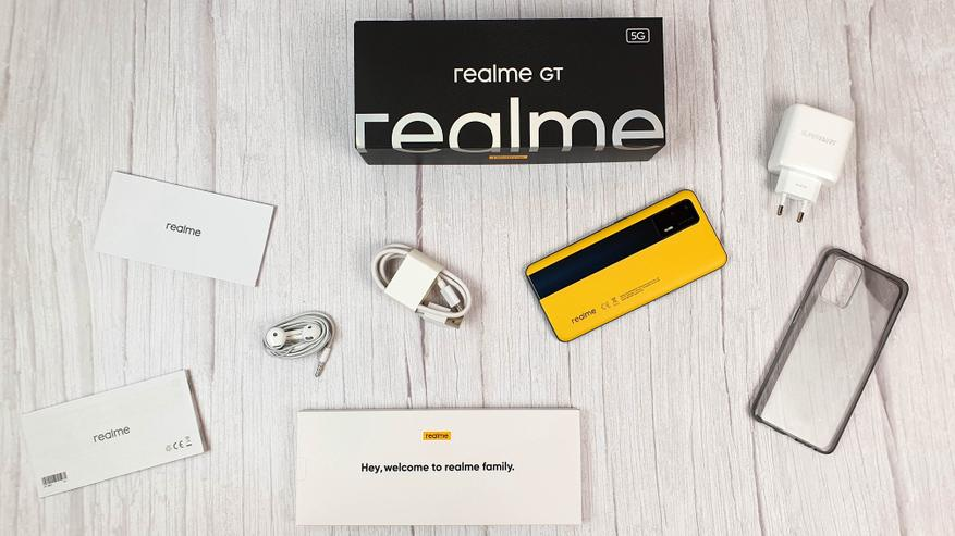 Подробный обзор флагманского смартфона Realme GT 5G - цена