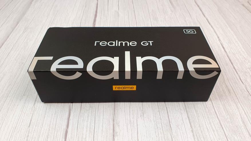 Подробный обзор флагманского смартфона Realme GT 5G - купить