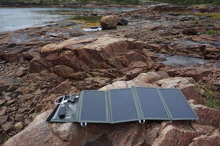 Обзор 24-ваттной солнечной зарядки Choetech с Aliexpress / Зарядки, пауэрбанки, провода и переходники / iXBT Live