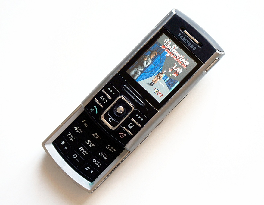 Samsung SGH-D720 во всей красе
