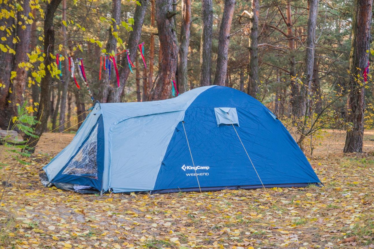 тамбур кемпинговой палатки
