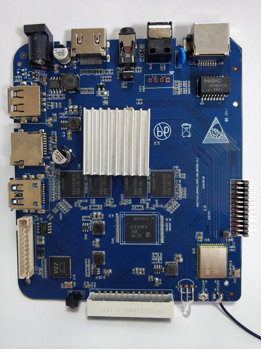 صندوق التلفزيون Magicsee N5 Plus: أملوجيك S905X3 ، خليج SSD / HDD ، MIMO 2 × 2 23