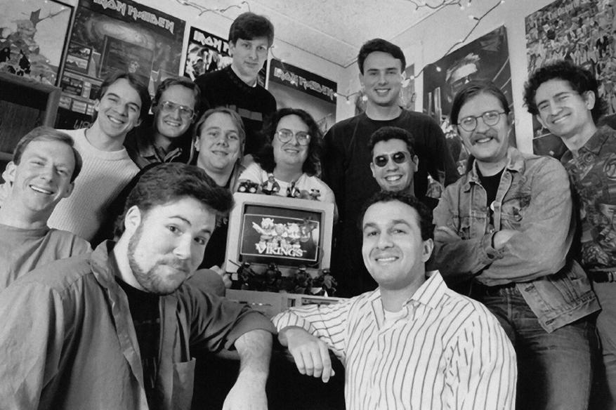 Blizzard в 1992 году.