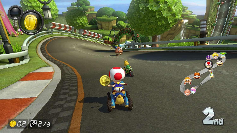 Gameplay mario kart 8 Mario Kart